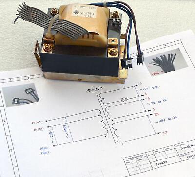 Trafo Transformator 220 Volt 240v Wechselstrom > 9v 10v 48v Ac 160 Watt Tr390