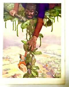 1926 The Youth's Companion Vtg Advertising Jell-O Jack and the Beanstalk Sears