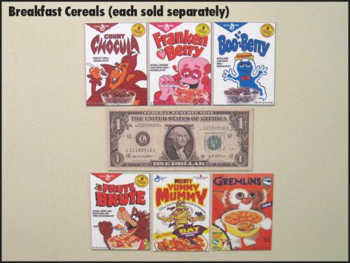 Imã de geladeira divertido refrigerador Muppets croonchy Estrelas Cereal Anos 80 Retrô