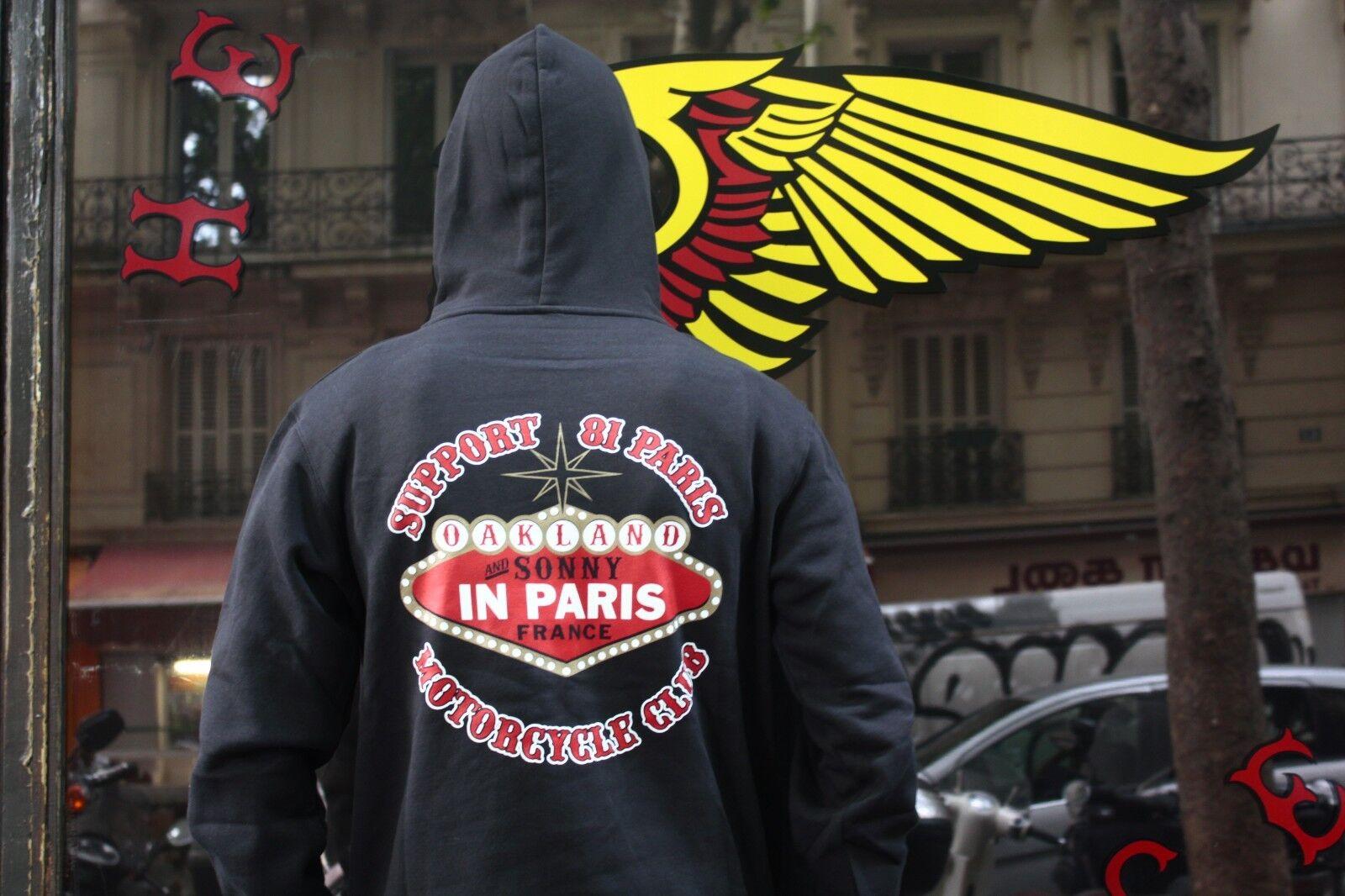 PROMO HIVER Sweat SUPPORT 81 PARIS Sonny Vegas Model