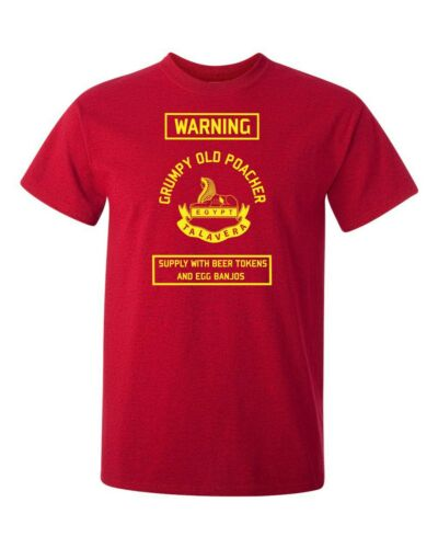 British Army The Royal Anglian Regiment Grumpy Old Poacher T-Shirt