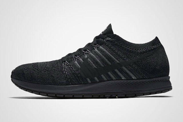 017d2f7c387 NIKE NikeLAB Flyknit Streak Sneakers Running Shoes Black Reflective 904711