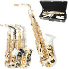 Brand New Top Sound Different Style Alto Eb Sax Saxophone Gold w/ Accessories