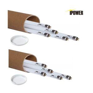 10Pack iPower 2FT 24W T5 Fluorescent High Output Cool Blue Grow Light Bulb 2700K