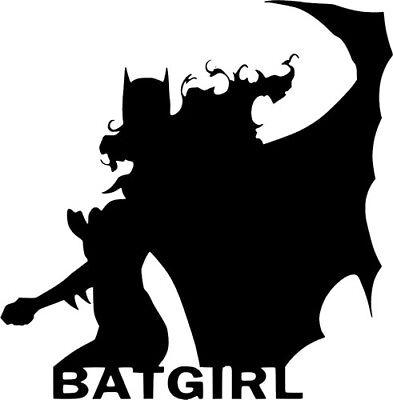 Bat Girl Vinyl Decal for laptop windows wall car boat
