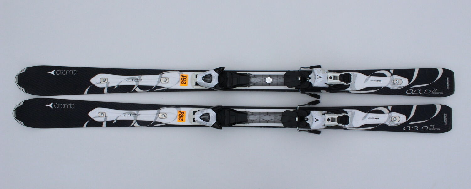 ATOMIC CLOUD D2 73 159 CM SKIS SKI + ATOMIC XTE 10 N381
