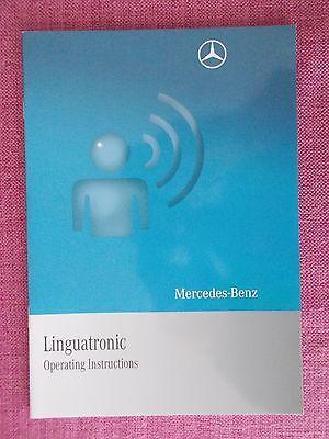 (2008) Mercedes-benz Linguatronic Manuale-manuale Dell'utente (acq 5255)- Ampia Selezione;