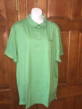 Banana Republic Men's Fitted Pima Polo Shirt Sz XXL Tall Green S/S orig $44.50