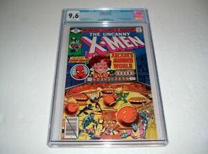 Uncanny-X-Men-123-CGC-NM-9-6-White-Pages-Spider-Man-Arcade-Wolverine