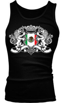 Mexican Mexicano Futbol Boy Beater Tank Top Mexico Country Crest Flag