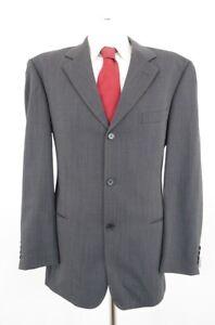 HUGO BOSS Anzug Einstein Sigma Gr.52 grau meliert Einreiher 3-Knopf -C47