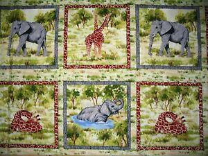 Animal-Giraffe-hippo-elephant-monkey-zebra-blocks-Choose-design-amp-size