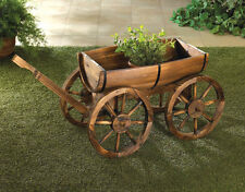 Apple Barrel Garden Wagon Planter