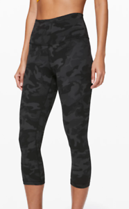 Lululemon-Align-High-Rise-Crop-Tight-21-034-Incognito-Camo-Multi-Grey-FREE-SHIPPING