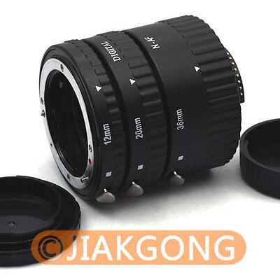Auto Focus Macro Extension Tube For NIKON AF AF-S DX FX