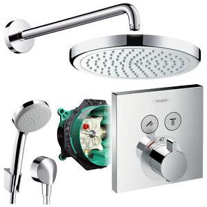Hansgrohe Unterputz Duschsystem Mit Kopfbrause Shower Select