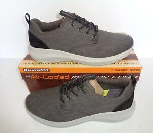 crucero Similar relé  Skechers Homme Nouveau Relaxed Fit mousse à mémoire de forme Noir Baskets  Décontractées Chaussures Tailles 6-13 | eBay