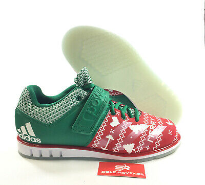 metodología Temeridad Barbero  adidas POWERLIFT 3.1 CG6455 Christmas Shoes Scarlet Cloud White Bold Green  a1 | eBay