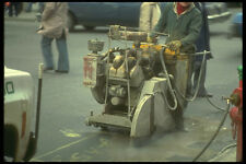 237072 Self propelled Concrete Saw A4 Photo Print