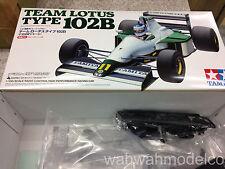 Tamiya 84287 RC 1/10 Team Lotus Type 102B - F104W Formula Kit