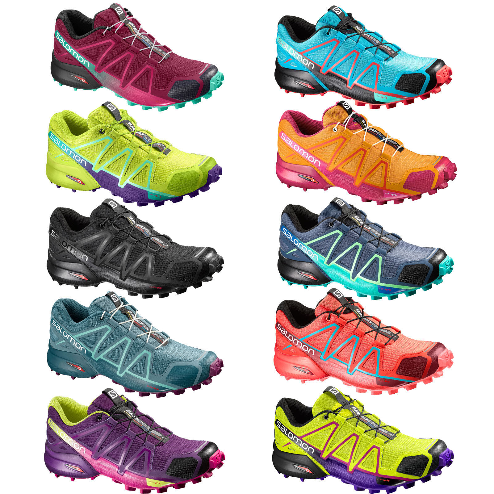 Salomon Gin 4 W Womens Running shoes Cross-shoes Outdoor Hiking shoes New