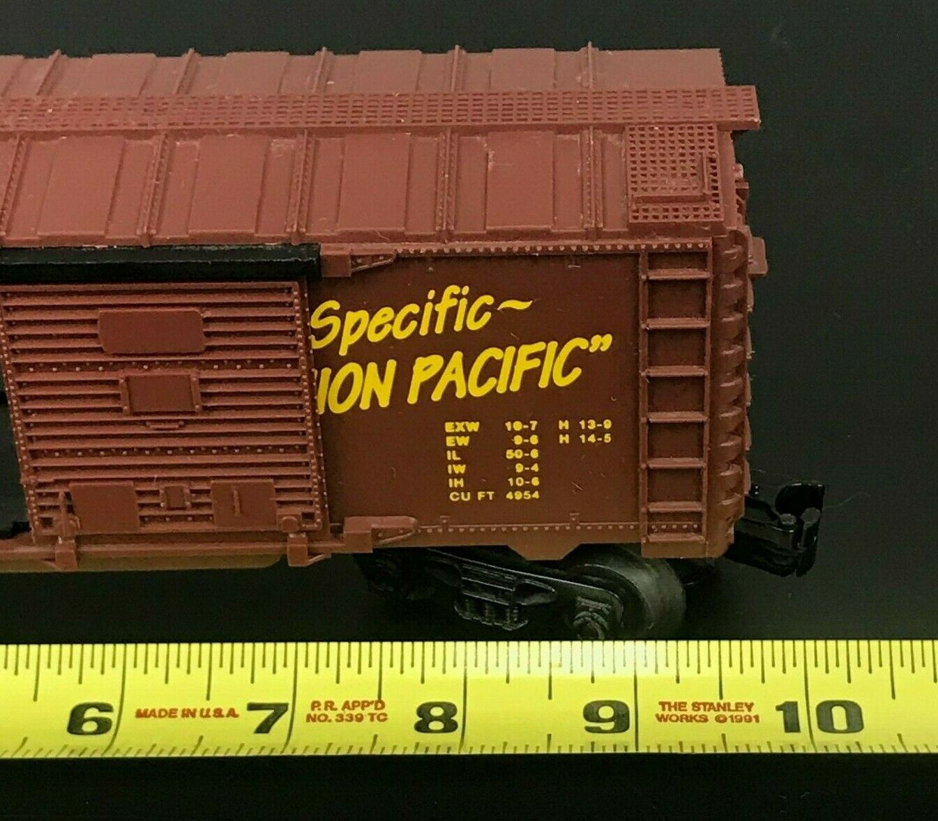 Lionel 16239 O Scale UP Union Union Union Pacific Ship Union