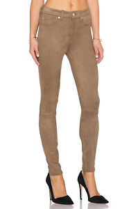 NEW-Womens-7-For-All-Mankind-High-Waist-Moca-Skinny-Embossed-Snake-Pant-AU11-W29