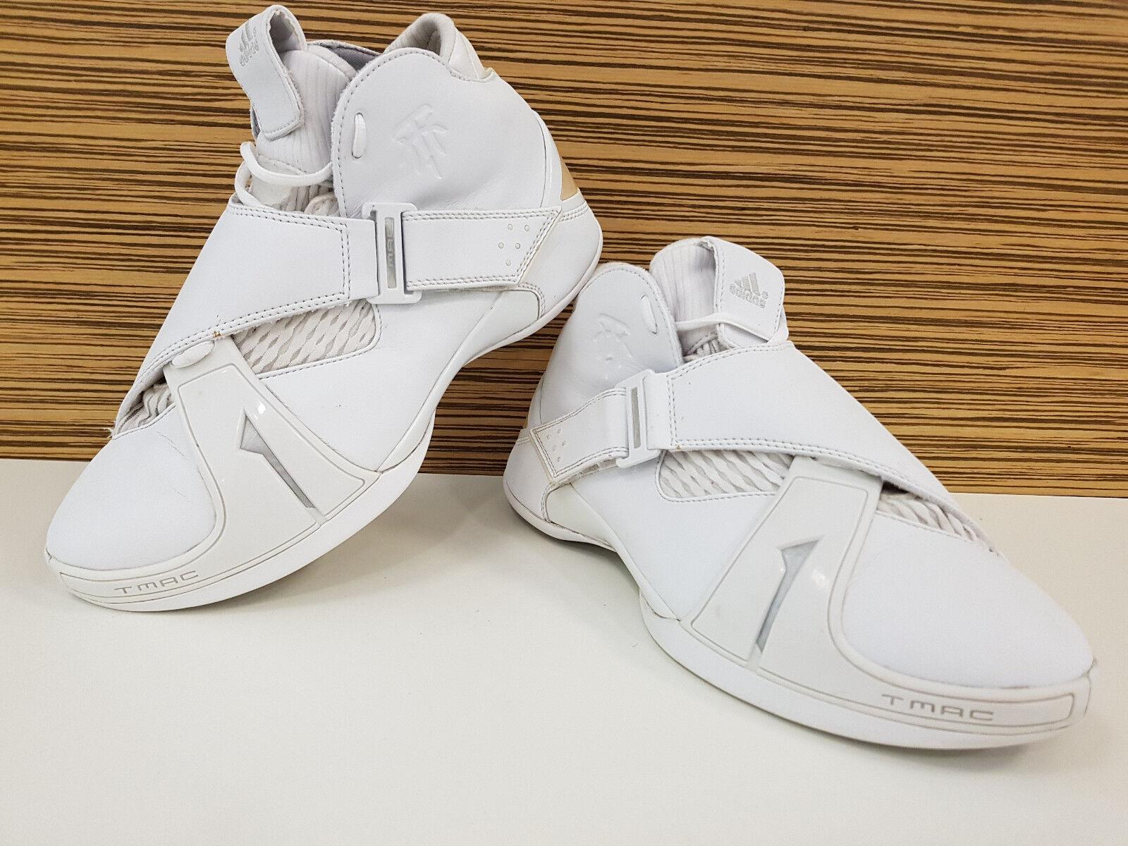 Legendäre Adidas TMAC 5 TRACY MC GRADY Basketball Schuhe Sneaker  9 = 43 – 43,5