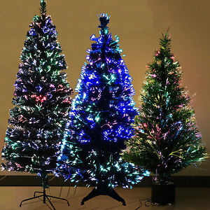 Luxury Fiber Optic 3ft 4ft 5ft 6ft Christmas