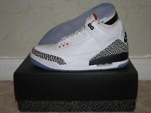 fcba4aee3dcb Nike Air Jordan 3 III Retro NRG Free Throw Line White Mens 9.5 DS ...