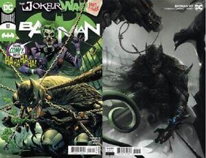 Batman #97 Main & Mattina Variant Joker War comics 1st Print NM unread 2020