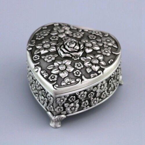 TIN ALLOY HEART WITH ROSE MUSIC BOX ♫  SAILOR MOON MOONLIGHT DENSETSU ♫