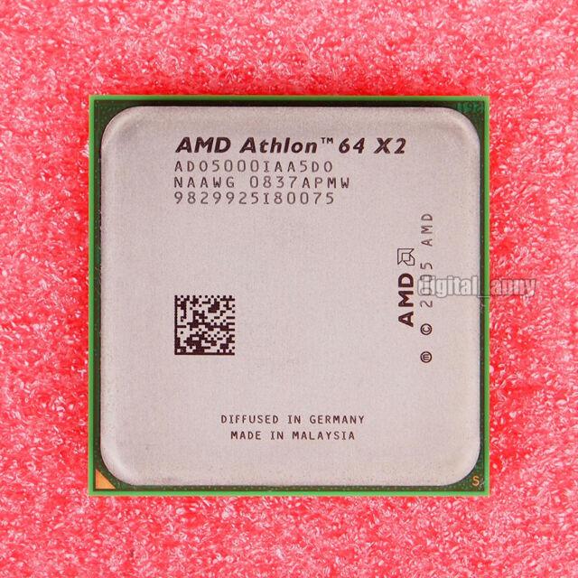 AMD Athlon 64 X2 5000+ 2.6 GHz Dual-Core CPU Processor ADA5000IAA5CS Socket AM2