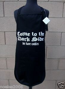 Come to the Dark Side Kitchen Chef Craft BBQ Hairdresser Apron