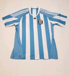 0fc768c39 Image is loading Adidas-AFA-Argentine-Football-Association -Blue-White-Soccer-