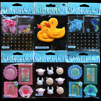 Jolees Baby Boy Girl Ducky Stickers 6 Pack Lot Animals Faces Onesies Gems Frames