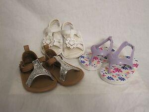38c08cff0ede Lot Old Navy Koala Baby Sandals Infant Size 2 3-6 Months Summer Flip ...
