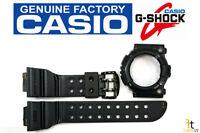 Casio G-shock Frogman Gw-200ms Original Rusty Black Band & Bezel Combo