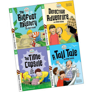 Read-with-Oxford-Stage-4-Biff-Chip-and-Kipper-Collection-4-Books-Set-Bigfoot-NEW
