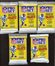 1990 NFL Pro Set Series 2 Factory Football Cards