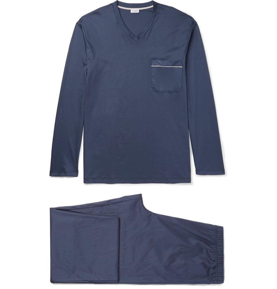 Zimmerli Herren Marineblau Pyjama Set
