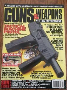 GUNS & WEAPONS FOR LAW ENFORCEMENT  MARCH 1995
