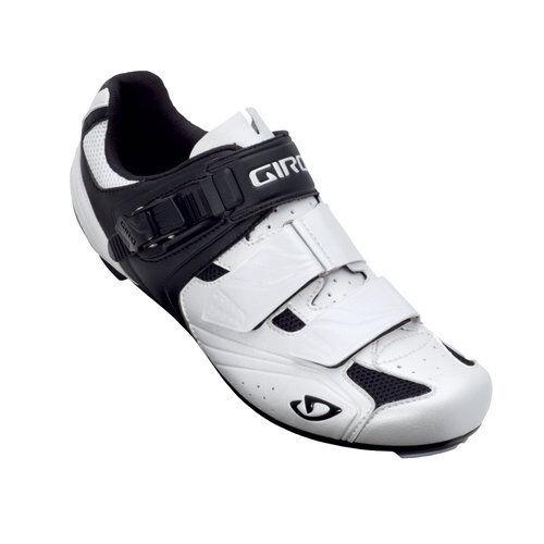 Giro Apeckx Radsport road Schuhe Weiß Schwarz Größe 41EU