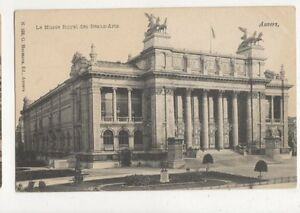 Le-Musee-Royal-Des-Beaux-Arts-Anvers-Belgium-Vintage-Postcard-446a