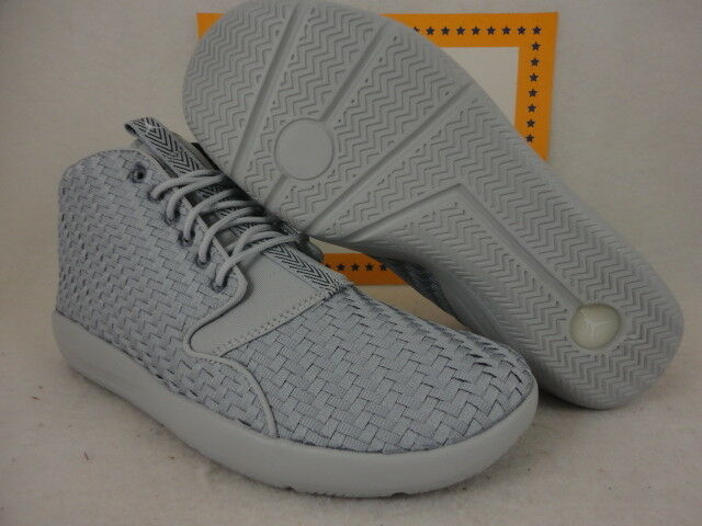 Nike Jordan Eclipse Chukka, Wolf Grey   White   Black, 881453 003, Sz 11