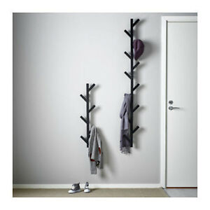 Image Is Loading Ikea Tjusig Wall Hanger Hat Rack Coat 6