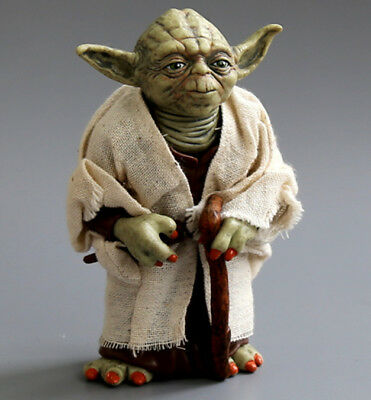 """4.7/"""" Star Wars Jedi Knight Master Yoda Action Figure Collectible Model Toy Doll"""