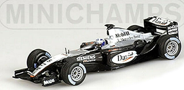 Mclaren Mercedes MP4-18 Formula1 Testcar 2003 #5 David Coulthard 1:43