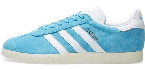 Adidas Originals Gazelle  Turchese Blu in Pelle Scamosciata B37945