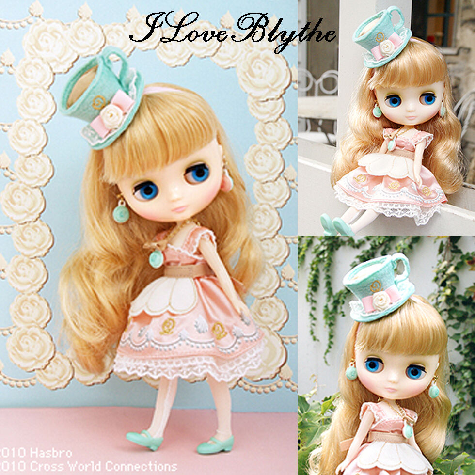 CWC Q-Pot exclusivo Middie Blythe Macaron Q-Tea Party